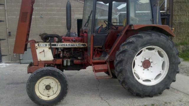 Traktor herschilderd